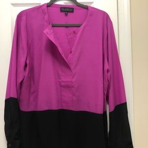 Eloquii Long Sleeve Blouse